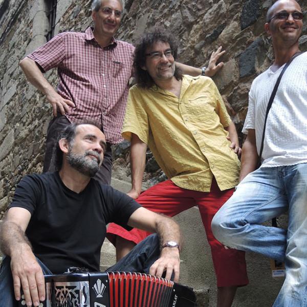 Michel Macias Quartet, «Des bals en halles», Scènes d'été en Gironde 2012 (video)
